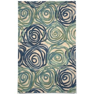 Faded Floral Rug (9' x 12') - 9' x 12'