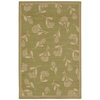 Floral Scatter Outdoor Rug - 7'10 x 9'10