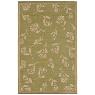 Floral Scatter Outdoor Rug (7'10 x 9'10) - 7'10 x 9'10