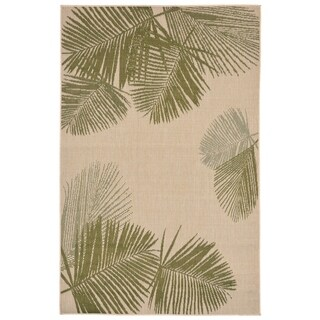 Leaves Outdoor Rug - 7'10 x 9'10