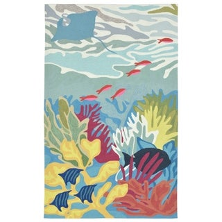 Sea Living Outdoor Rug (7'6 x 9'6) - 7'6 x 9'6