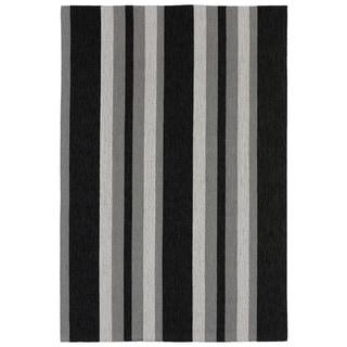 Multi Stripe Outdoor Rug (8'3 x 11'6) - 8'3 x 11'6