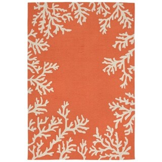Sea Border Outdoor Rug (7'6 x 9'6) - 7'6 x 9'6