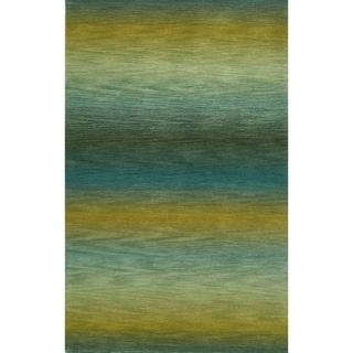 Rainbow Stripe Rug (7'6 x 9'6) - 7'6 x 9'6