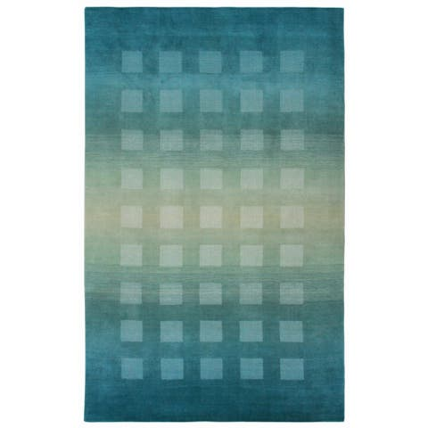 Shaded Squares Rug (9' x 12') - 9' x 12'