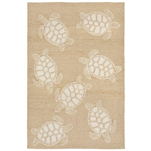 Tortoise Outdoor Rug (7'6 x 9'6) - 7'6 x 9'6