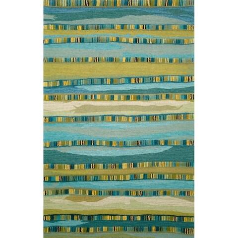 Liora Manne Texture Stripe Rug (9' x 12') - 9' x 12'