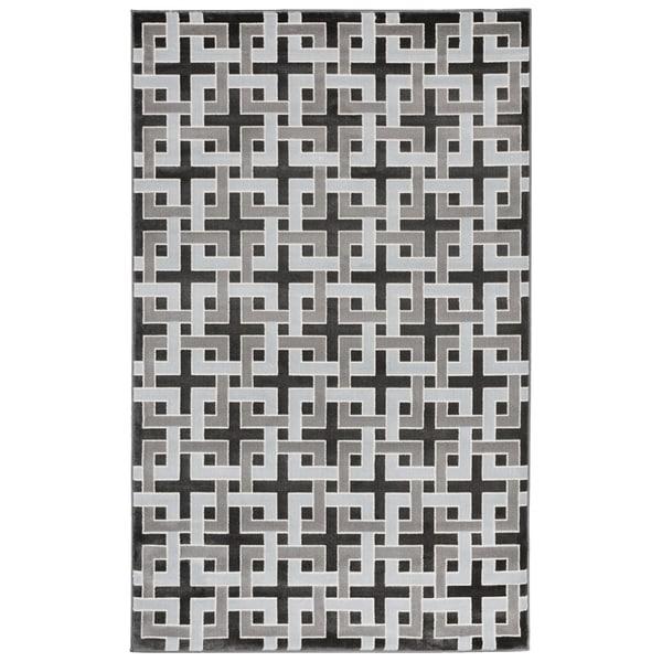 Square Maze Rug (7'10 x 9'10) - 7'10 x 9'10