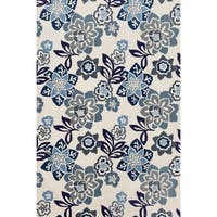Scattered Flowers Outdoor Rug - 8'3 x 11'6
