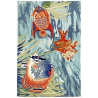 Under The Sea Outdoor Rug - 7'6 x 9'6