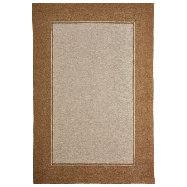 Wide Frame Outdoor Rug (7\'6 x 9\'6) - Free Shipping Today - Overstock ...