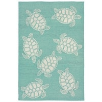 Tortoise Outdoor Rug - 7'6 x 9'6