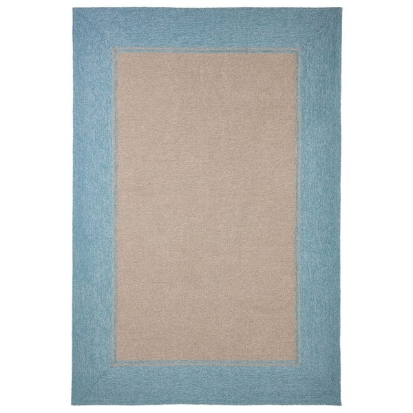 Wide Frame Outdoor Rug (7'6 x 9'6) - 7'6 x 9'6