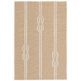 Liora Manne Capri Nautical Twine Outdoor Rug (3'6 x 5'6) - 3'6 x 5'6