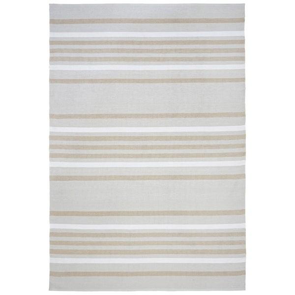 Liora Manne Multi Stripe Outdoor Rug (3'6 x 5'6) - 3'6 x 5'6