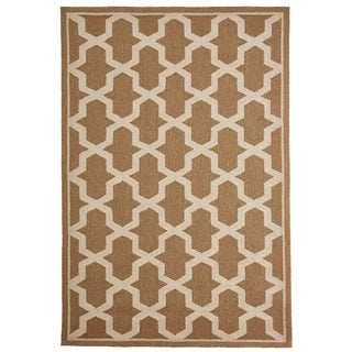 Liora Manne Mod Angles Outdoor Rug (3'6 x 5'6) - 3'6 x 5'6