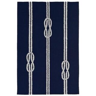 Nautical Twine Outdoor Rug (3'6 x 5'6) - 3'6 x 5'6