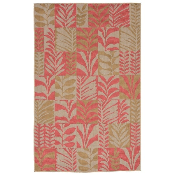 Liora Manne Folliage Outdoor Rug (3'3 x 4'11) - 3'3 x 4'11