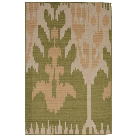 Liora Manne Tribal Outdoor Rug (3'3 x 4'11) - 3'3 x 4'11