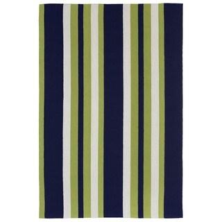 Multi Stripe Outdoor Rug (3'6 x 5'6) - 3'6 x 5'6