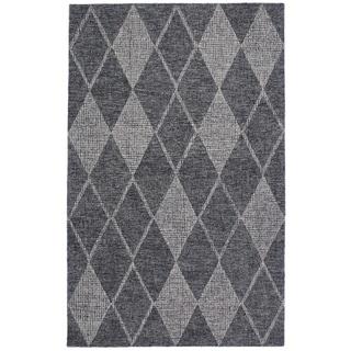 """Liora Manne Savannah Diamond Wool Indoor Rug Flannel 3'6"""" X 5'6"""" - 3'6 x 5'6"""