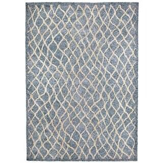 Liora Manne Wavey Lines Outdoor Rug (3'6 x 5'6) - 3'6 x 5'6