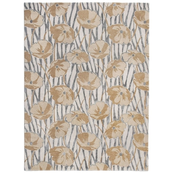Liora Manne Whimsical Flowers Rug (3'6 x 5'6) - 3'6 x 5'6