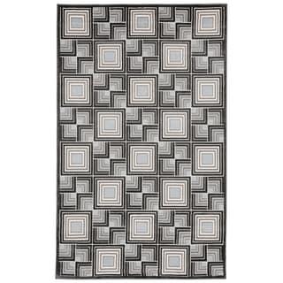 Liora Manne Square In Square Rug (3'3 x 4'11) - 3'3 x 4'11