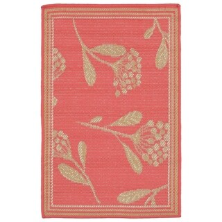 Floral Scatter Outdoor Rug (1'11 x 2'11) - 1'11 x 2'11