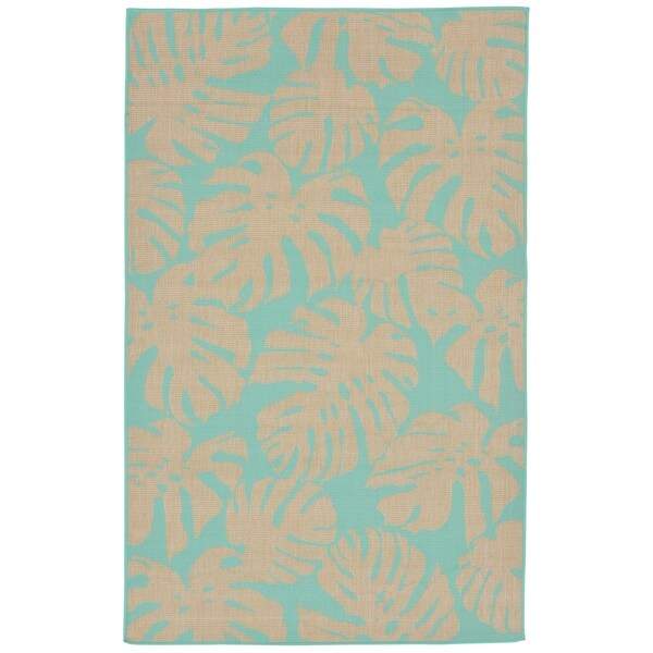 Liora Manne Tropics Outdoor Rug (3'3 x 4'11) - 3'3 x 4'11