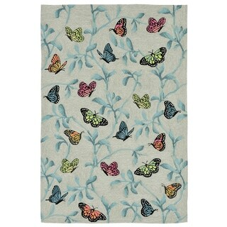 Resting Wings Outdoor Rug (3'6 x 5'6) - 3'6 x 5'6