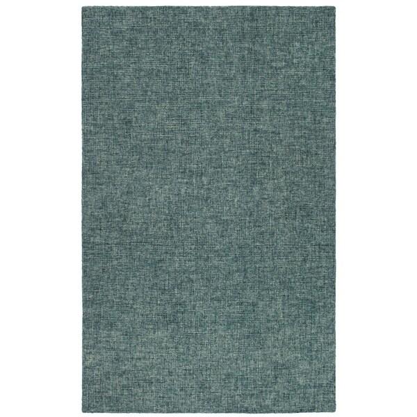 "Liora Manne Savannah Fantasy Wool Indoor Rug Teal 3'6"" X 5'6"" - 3'6 x 5'6"