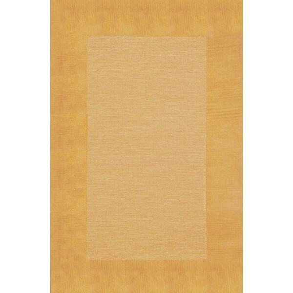 Liora Manne Solid Border Rug (2' x 3') - 2' x 3'