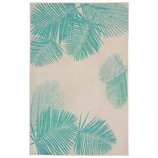 Leaves Outdoor Rug - 1'11 x 2'11