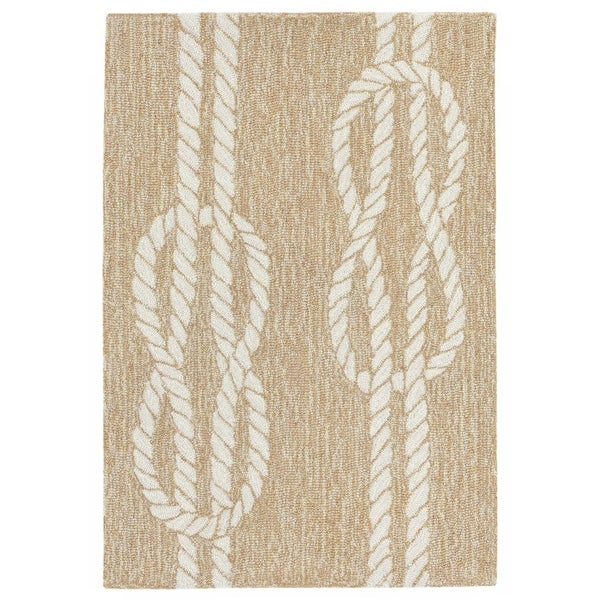 Liora Manne Capri Nautical Twine Outdoor Rug (1'8 x 2' 6) - 1'8 x 2' 6
