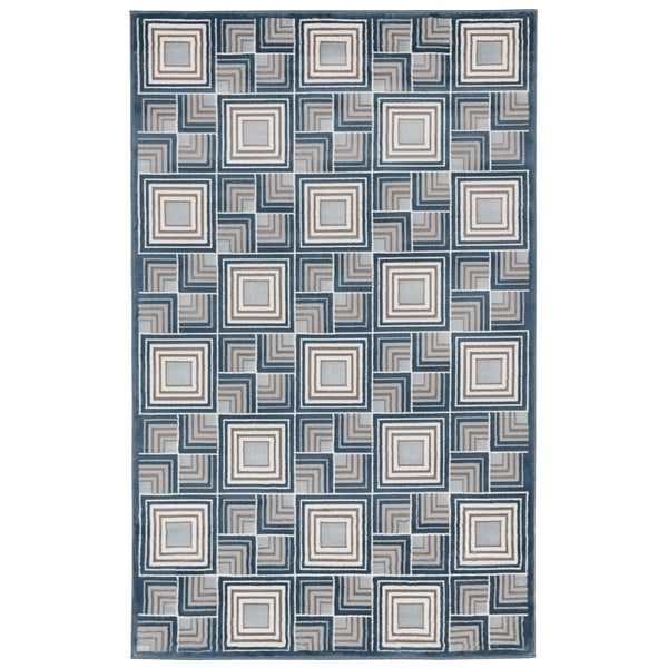 Liora Manne Square In Square Rug (1'11 x 2'11) - 1'11 x 2'11
