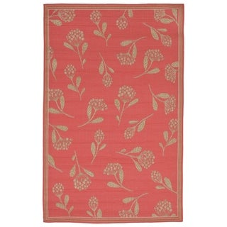 Floral Scatter Outdoor Rug (1'11 x 7'6) - 1'11 x 7'6