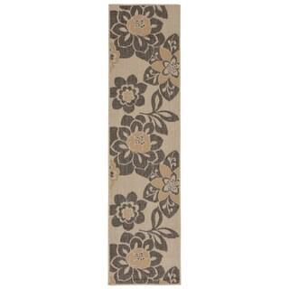 Liora Manne Flower Power Outdoor Rug (1'11 x 7'6) - 1'11 x 7'6