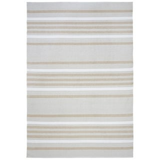 Multi Stripe Outdoor Rug - 2' x 3'
