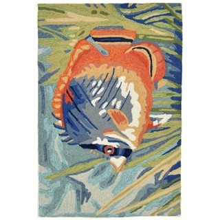 Liora Manne Ravella Tropical Fish Outdoor Rug (2'6 x 4') - 2'6 x 4'