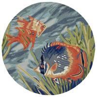 Under The Sea Outdoor Rug (5' x 5') - 5' x 5'