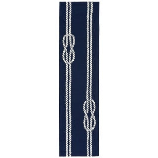 Liora Manne Capri Nautical Twine Outdoor Rug (2' x 8') - 2' x 8'