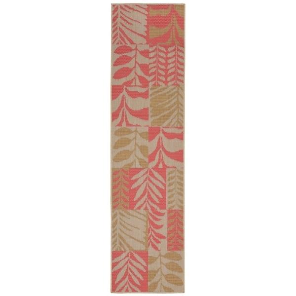Liora Manne Folliage Outdoor Rug (1'11 x 7'6) - 1'11 x 7'6