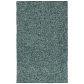 "Liora Manne Savannah Fantasy Wool Indoor Runner Rug Teal 2' X 7'6"" - 2' x 7'6"""