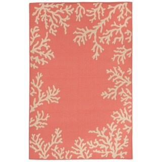 Reef Border Outdoor Rug (1'11 x 7'6) - 1'11 x 7'6