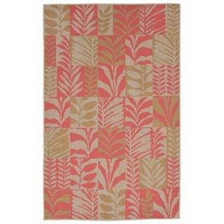 Liora Manne Folliage Outdoor Rug (4'10 x 7'6) - 4'10 x 7'6