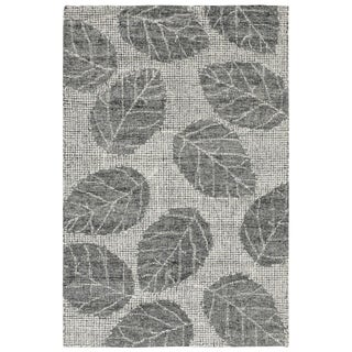"Liora Manne Savannah Leaf Wool Indoor Runner Rug Flannel 2' X 7'6"" - 2' x 7'6"""