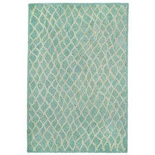 Liora Manne Wavey Lines Outdoor Rug (2' x 8') - 2' x 8'