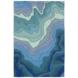 Waves Outdoor Rug (5' x 7'6) - 5' x 7'6