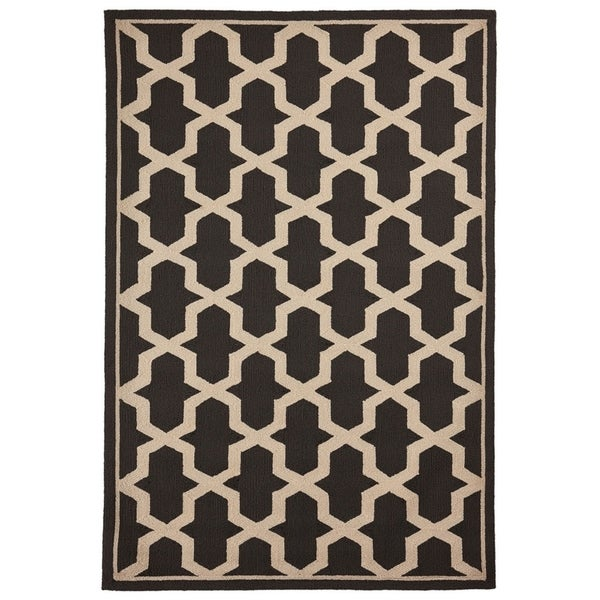 Liora Manne Mod Angles Outdoor Rug (5' x 7'6) - 5' x 7'6